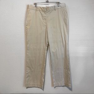 J Crew Stretch Khaki Chino Pants